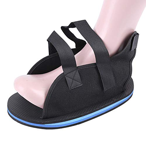 Foot Sprains Stabiliser Shoe for Joint Sprain Fracture Rehabilitation, Durable Square Toe Orthopedic Support Brace for Broken Bones – Men, Woman Fracture Recovery