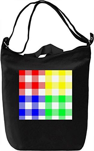 Texture Pattern Full Print Borsa Giornaliera Canvas Canvas Day Bag  100% Premium Cotton Canvas  DTG Printing 
