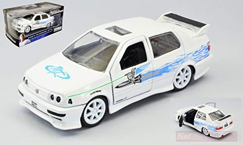 Jada Toys JADA99592 Jesse's Volkswagen Jetta Fast & Furious White 1:32 DIE CAST kompatibel mit