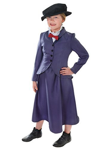 [Mary Poppins or Nanny McPhee - Children's Costume - Medium by Beautiful Balloons] (Mary Poppins Costume Child)