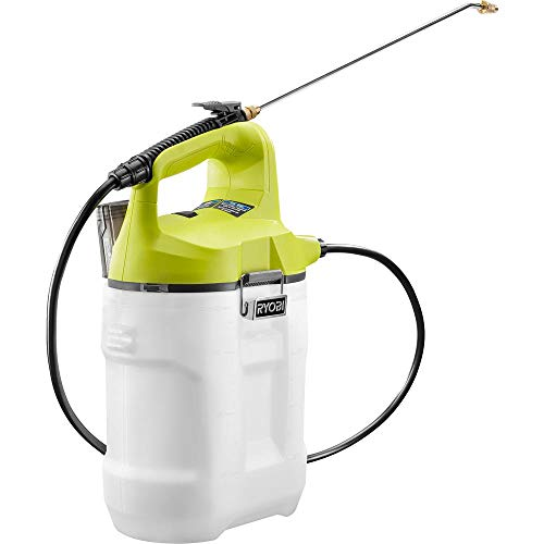 Tank Spray Nozzles - RYOBI ONE+ 18-Volt Lithium-Ion Cordless 2 Gal. Chemical Sprayer, with Adjustable Spray Nozzle, Removable Tank with Onboard Mixing Cup (Tool Only)
