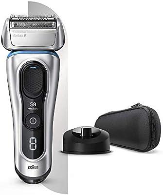 Braun Series 8 8350s Next Generation - Afeitadora eléctrica, color plateado: Amazon.es: Salud y cuidado personal