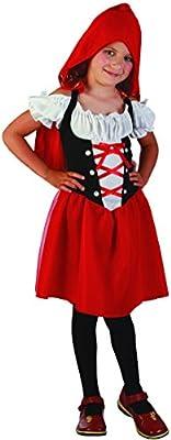 Disfraz Caperucita Roja Niña 7-9 Años (122/134): Amazon.es ...