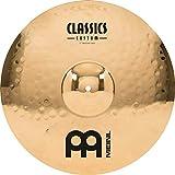 Meinl Cymbals CC17MC-B Classics Custom 17-Inch Medium Brilliant Crash Cymbal