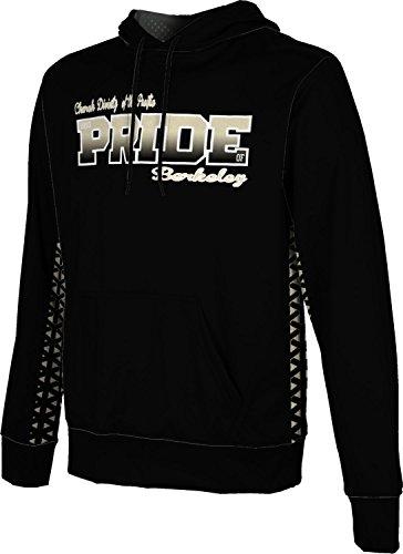 Men's Church Divinity of The Pacific College Geometric Hoodie Sweatshirt F0872 by ProSphere