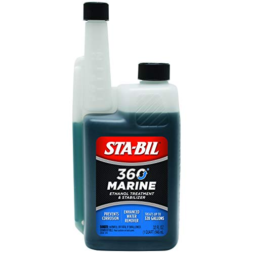 : STA-BIL 22240 32 oz. 360 Marine Ethanol Treatment and Fuel Stabilizer, 32oz