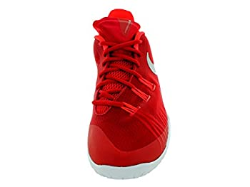 Nike Hyperchase Tb Mens Trainers 749554 Sneakers Shoes (Uk 12 Us 13 Eu 47.5, University Red Metallic Silver White 601) 1