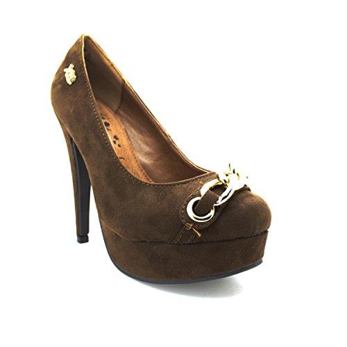 Zapato XTI antelina taupe