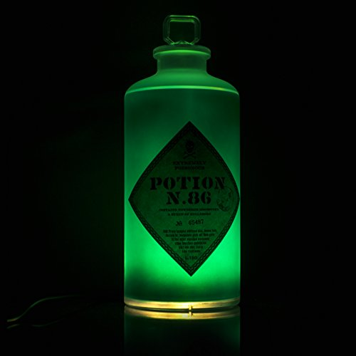 Paladone Harry Potter Potion Bottle Light-Hellebore-Twinkle and Static Light Settings ()