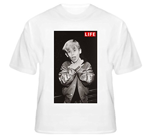 Macaulay Culkin Ryan Gosling Wearing Ryan Wearing Macaulay Celebrity Choking Life Original T Shirt M White