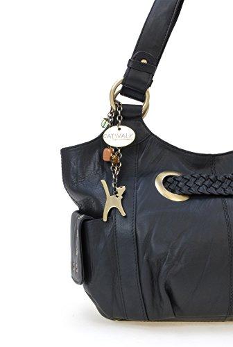 Catwalk Sac Collection besace Noir en signé cuir
