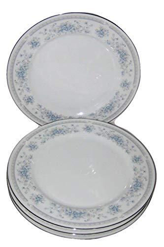 The Salem Heritage Collection Bridal Bouquet American Limoges 10 Inch Dinner Plate, Set of 4