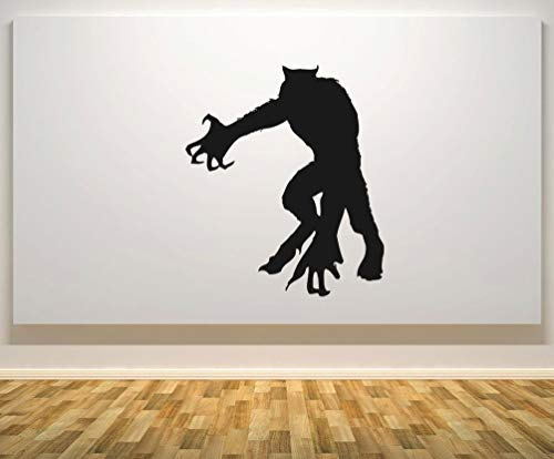 CELYCASY Halloween Werewolf Silhouette - Monster - Vampire