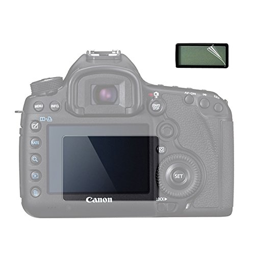 ((2 Pack) VKO LCD Screen Protector Compatible for Canon EOS 5D Mark III 5DIII 5D3 DSLR Camera Anti-scrach Tempered Glass 9H)