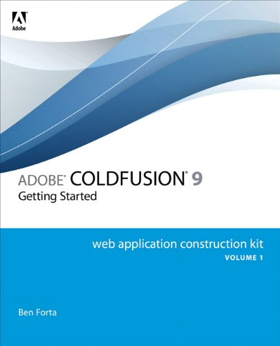 [PDF] Adobe ColdFusion 9 Web Application Construction Kit, Volume 1: Getting Started Free Download | Publisher : Adobe Press | Category : Computers & Internet | ISBN 10 : 032166034X | ISBN 13 : 9780321660343