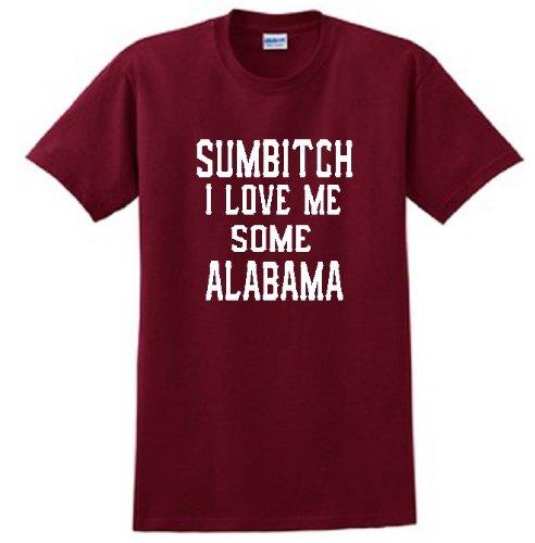 ALABAMA 'SUMBITCH' RED T SHIRT (4X)