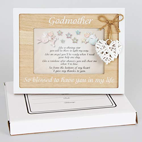 Godmother Frame 4x6 Perfect Godmother Gift from Godchild for ...