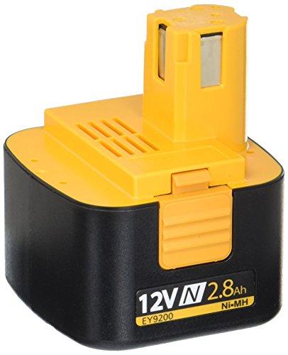 Panasonic EY9200B 12-Volt 2.8 Amp Hour NiMH Pod Style Battery ()