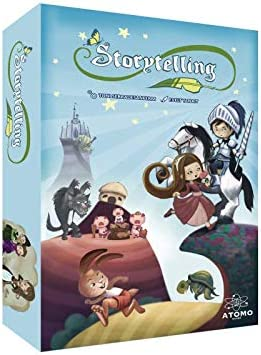 Átomo Games Storytelling. El Juego de Mesa: Amazon.es: Juguetes y juegos