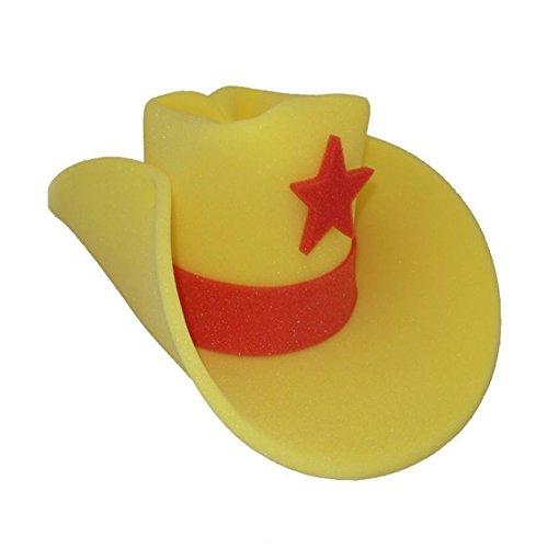 30 Gallon Foam Cowboy Costume Hat Giant Big Huge Jumbo Western Yellow -