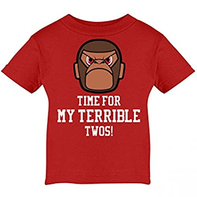 Terrible Twos: Infant Cotton T-Shirt