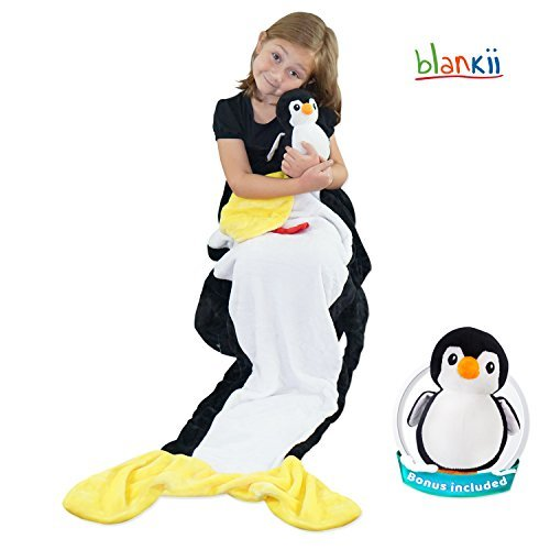 Purchase From Blankii Mermaid Tail - New Penguin Blanket Design For Kids – Super Soft & Cuddly Min...