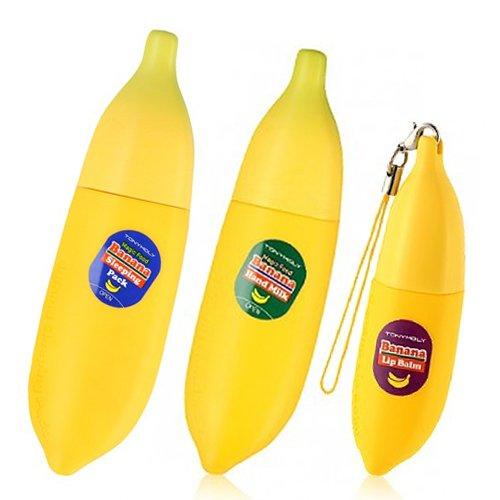 熱意方法論ルネッサンスTONYMOLY (トニーモリ―) マジックフードバナナ3種類1セット(スリーピングパック+ハンドクリーム+リップバーム) Magic Food Banana of 3 Types (Sleeping Pack+Hand Cream+Lim Balm) [並行輸入品]