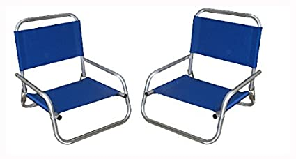 TWO PACK - World Outdoor Products Maui Hawaiian RUST PROOF Anodized All Aluminum Folding Beach Chair  sc 1 st  Amazon.com : aluminum folding beach chairs - Cheerinfomania.Com