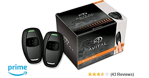 amazon com avital 4115l avistart remote start with two 1 buttonamazon com avital 4115l avistart remote start with two 1 button controls avital car electronics