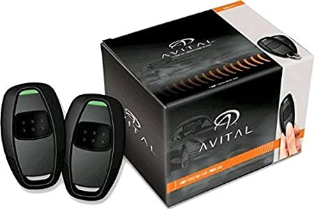 Avital 4115L Avistart Remote Start with Two 1-Button Controls Directed Electronics Inc