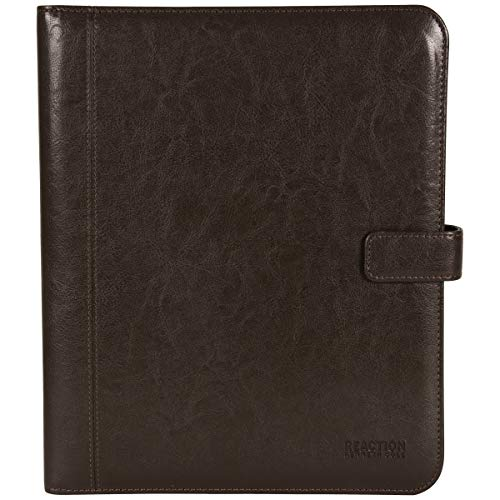 Kenneth Cole Reaction Faux Leather Standard Bifold Writing Pad with Business Organizer, Brown by Kenneth Cole REACTION (Image #4)