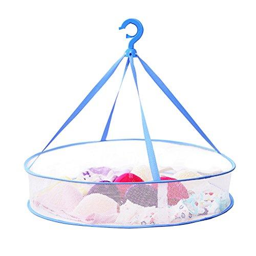 BESTOMZ Clothes Drying Rack Airer Mesh Net Hanging Dryer Fol