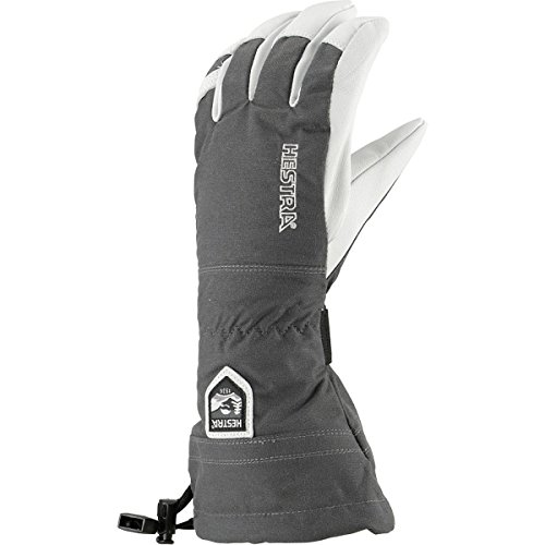 Hestra Men's Heli Glove, Grey, Medium