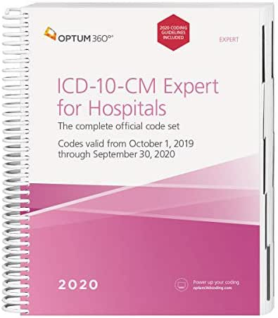 ICD-10-CM 2020 Expert for Hospitals: Includes Guidelines (ICD-10-CM Expert for Hospitals)