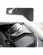 crosselec Black Matte Coolant Tank Cover Trim for Dodge Challenger Charger Chrysler 300/300c 2011-2021