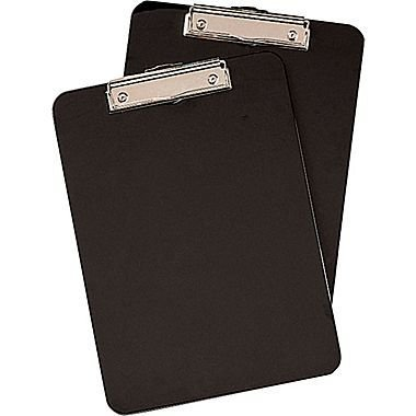 Staples Clipboards Black Pack 12 product image