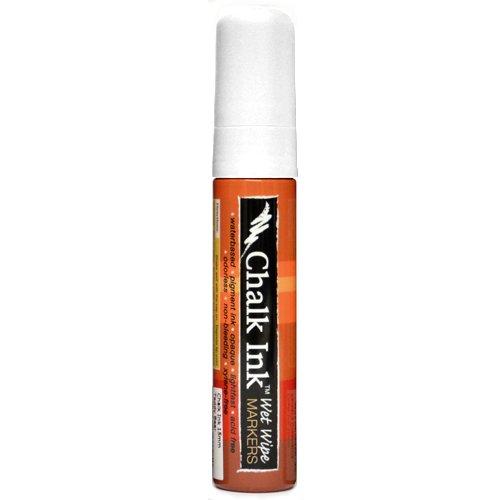 Chalk Ink Bold Wet Wipe Marker, 15 mm, Chalk White