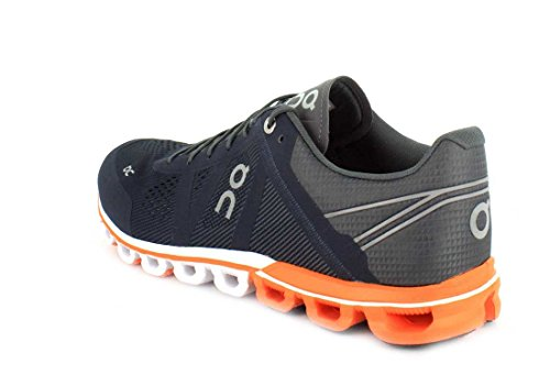 On Orange Rock Cloudflow Men Shoes Running Blue gngrOaW