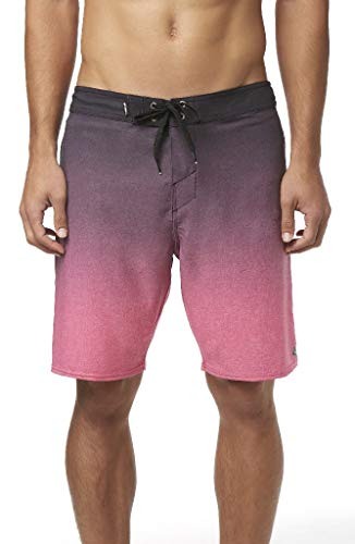O'Neill Men's Water Resistant Hyperfreak Stretch Swim Boardshorts, 19 Inch Outseam (Pink/Solid, 38)]()