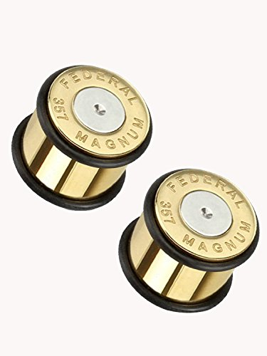 (00g) Federal 357 Magnum Centerfire Cartridge Ear Plug-2pc