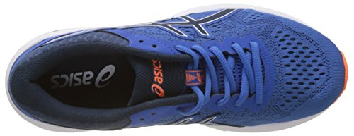 Asics Gt-1000 6, Scarpe da Running Uomo Blu (Victoria Bluedark Blue Shocking Orange 4549)