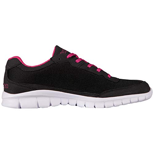 1127 Baskets Noir Kappa black Basses Rocket Adulte Mixte l´pink Sx66qU8