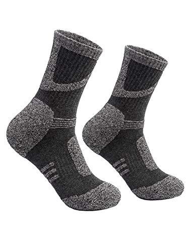 靴下 メンズ ソックス トレッキング ソックス 多機能 アウトドアスポーツソックス 3足入男性靴下 厚い靴下 通気吸湿速乾 男性靴下