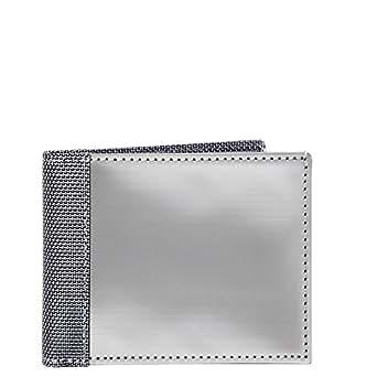 RFID Blocking Stewart/Stand Stainless Steel Wallet