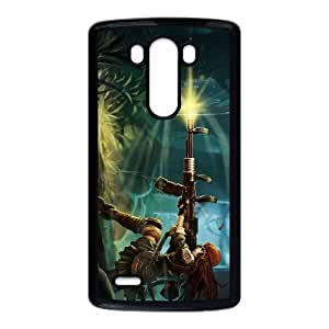 LG G3 Cell Phone Case Black League of Legends Resistance Caitlyn OIW0399432