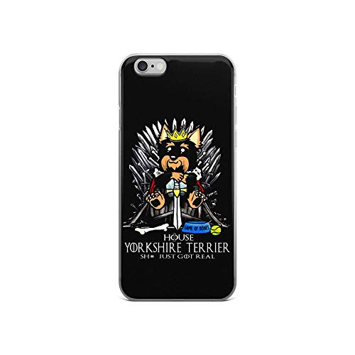 iPhone 6/6s Pure Case Cover Game of Bones House Yorkshire Terrier Shit Just Got Real