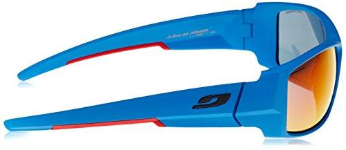 Julbo Armor Lunettes de Soleil Homme Bleu 7691 Mat/Rouge