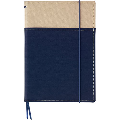 Kokuyo cover notebook systemic A5 navy blue A ruled 40 sheets Bruno -655A-4