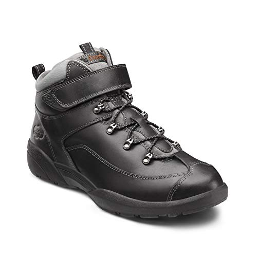 Dr. Comfort Ranger Men's Therapeutic Diabetic Extra Depth Hiking Boot: Black 14 Medium (B/D) Lace