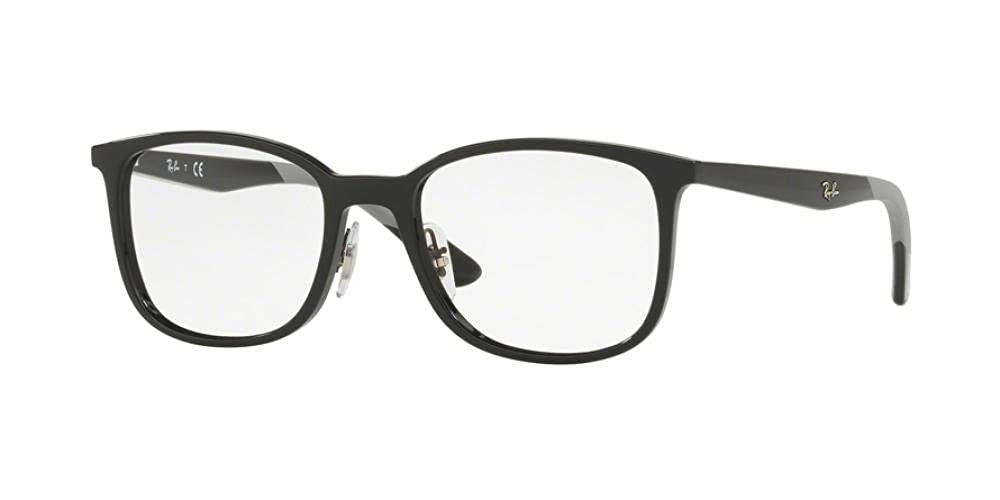 RB Mens RX7142 Eyeglasses /& Cleaning Kit Bundle